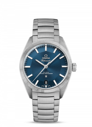 Omega Constellation Globemaster Blå Skive Stål 39 MM-13030392103001