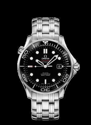 Omega Seamaster Diver 300M Co-Axial Sort Skive Stål 41 MM-21230412001003