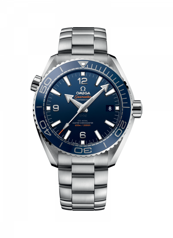 Omega Seamaster Planet Ocean 600M Co-Axial Blå Skive Stål 43,5 MM-215-30-44-21-03-001