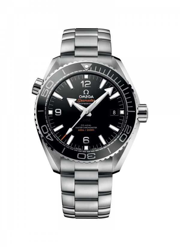 Omega Seamaster Planet Ocean 600M Co-Axial Master Sort Skive Stål 43,5 MM-215-30-44-21-01-001