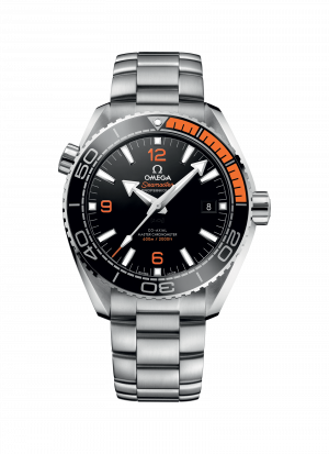 Omega Seamaster Planet Ocean 600M Co-Axial Sort Skive Sort-Orange Bezel Stål 43,5 MM-215-30-44-21-01-002