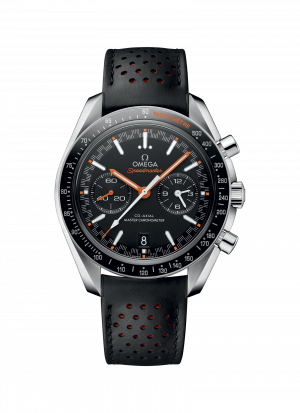 Omega Speedmaster Racing Co-Axial Chronograph Sort Skive Sort Skinnrem 44,25 MM 329.32.44.51.01.001