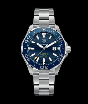 Tag Heuer Aquaracer Automatisk Blå Skive Stål 43 MM WAY201B-BA0927