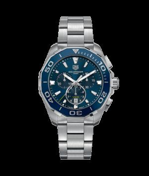 Tag Heuer Aquaracer Chronograph Quartz Blå Skive 43 MM-CAY111B.BA0927