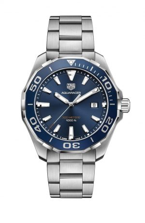 Tag Heuer Aquaracer Quartz Blå Skive 43 MM - WAY101C.BA0746