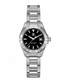 Tag Heuer Aquaracer Quartz Sort Skive Stål 27 MM-WAY1410-BA0920