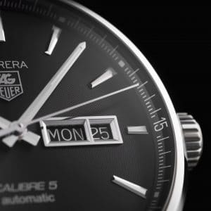 Tag Heuer Carrera Day-Date Automatisk Sort Skive Stål 41 MM-WAR201A.BA0723 2