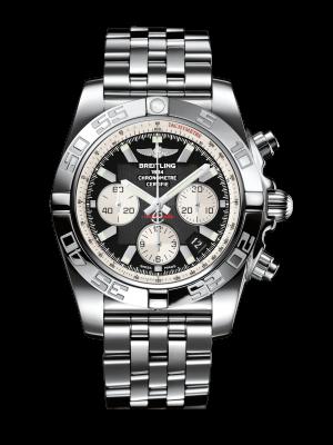 Breitling Chronomat Automatisk Grå Skive Stål 44 MM AB011012-B967-388A