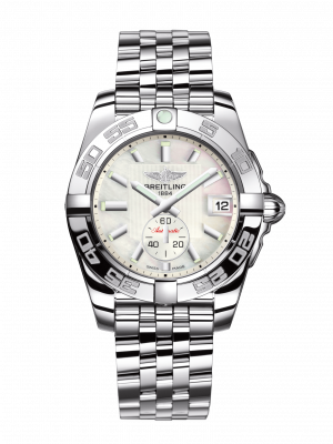 Breitling Galactic Automatisk Perlemor Skive Stål 36 MM A3733012-A716-376A