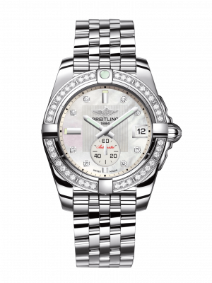Galactic Automatisk Perlemor Diamant Skive Stål 36 MM A3733053-A717-376A