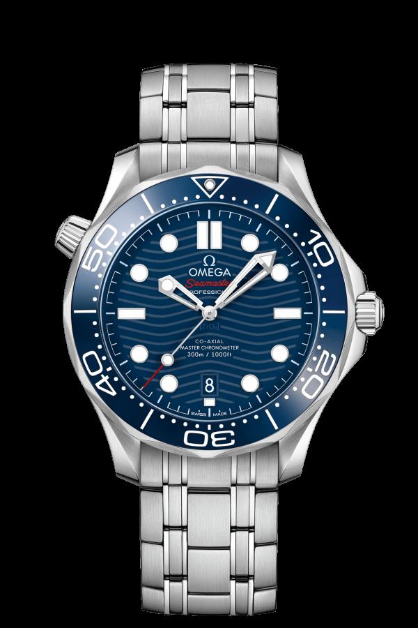omega seamaster diver 300m omega co-axial masterchronometer 42 210.30.42.20.03.001