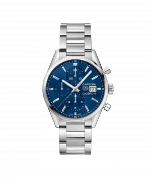 Tag Heuer Carrera Calibre 16 Automatic Chronograph Blå 41 MM